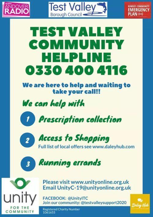 Test Valley Community Helpline